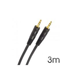 Cable Cromad Stereo Mini Jack 3.5 M/M Audio 3M - CR0135