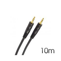 Cable Cromad Stereo Mini Jack 3.5 M/M Audio 10M - CR0137